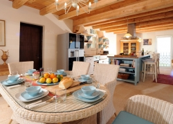 Dining kitchen in Holiday Villa Corfu