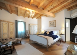 Luxurious master bedroom Corfu villa