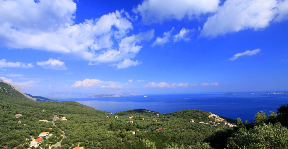 Sea views from Villa del Cielo